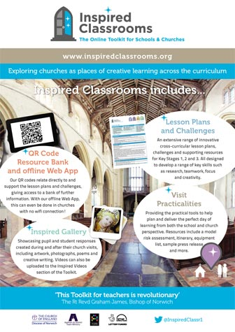 Inspired Classrooms - A3 Poster 2