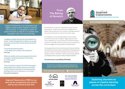 Inspired Classrooms - A4 DL Trifold Leaflet