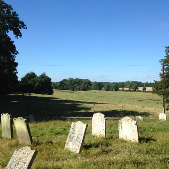 QR-Bank-Churchyard-BlicklingParishChurch